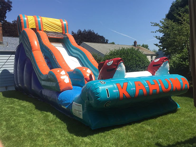 big kahuna water slide for rent