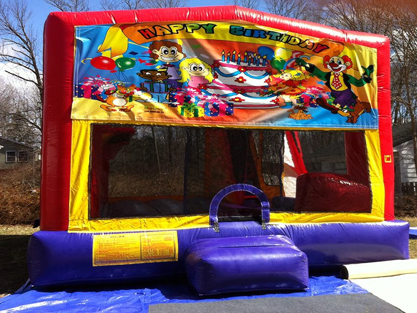 happy birthday bounce house for rent
