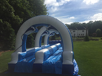 slide n slide for rent