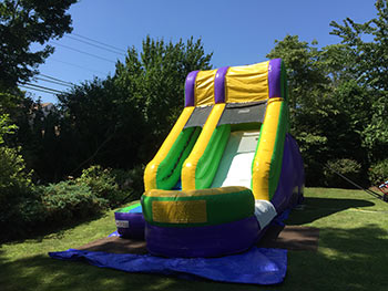splash water slide for rent