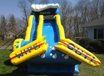 wipe out slide for rent